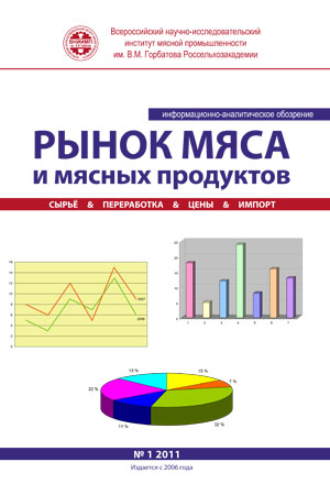 MONTHLY INFORMATION-ANALYTICAL REVIEW «THE MARKET OF MEAT AND MEAT PRODUCTS»
